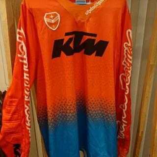 KTM パワーウェア トロイリーデザイン モトクロスジャージ  XL(モトクロス用品)