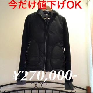 アイザックセラムエクスペリエンス(ISAAC SELLAM EXPERIENCE)の美品 定価¥27万 isaac sellam ダウンジャケット(ダウンジャケット)