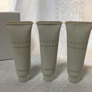 ナリスケショウヒン(ナリス化粧品)のナリス マジェスタ Wクレンジングフォーム15g×3本セット (洗顔料)