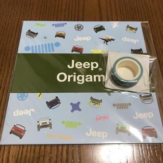 ジープ(Jeep)のJeep おりがみ&マスキングテープ(ノベルティグッズ)