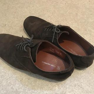 ナノユニバース(nano・universe)のnano・universe 革靴 茶色 サイズS(ドレス/ビジネス)