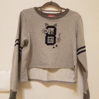 インナープレス(INNER PRESS)の美品 インナープレス トレーナー150(Tシャツ/カットソー)