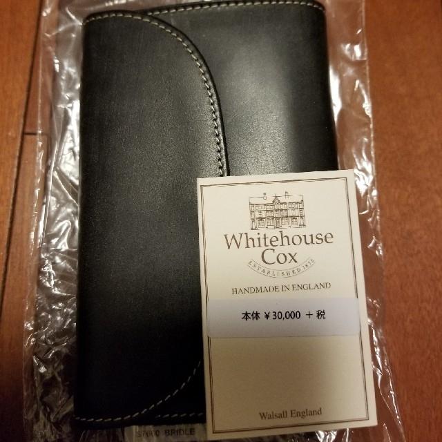 WHITEHOUSE COX(ホワイトハウスコックス)のWhitehouse Cox 三つ折財布 メンズのファッション小物(折り財布)の商品写真