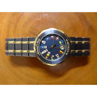 コルム(CORUM)のコルム ・アドミラルズカップ・ダイヤ  ガンブルー レディース(腕時計)