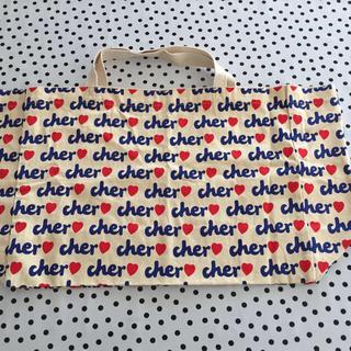 シェル(Cher)の値下げ✩cher ecobag 大◛♡⃝(エコバッグ)