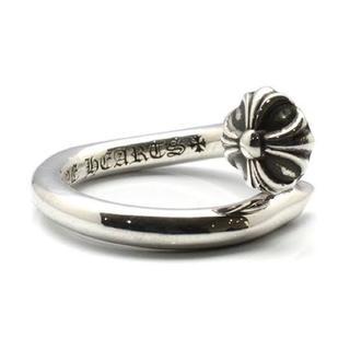 クロムハーツ(Chrome Hearts)のクロムハーツ ネイルングクロスボール(リング(指輪))