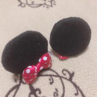 ディズニー(Disney)のミニー 耳 ピン(ヘアピン)