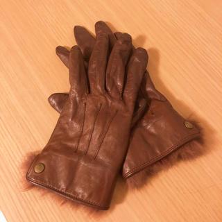クロエ(Chloe)のChloe✴︎レザー手袋(手袋)