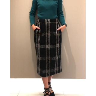 フレイアイディー(FRAY I.D)の(なな様専用♪)新品未使用♪FRAY I.D ☆ウールタイトスカート(ロングスカート)