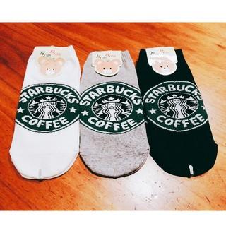スターバックスコーヒー(Starbucks Coffee)の新品未使用☆スタバ 靴下3足セット(ソックス)
