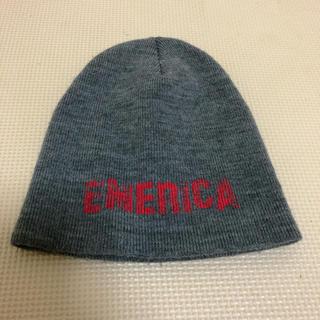 エメリカ(Emerica)の【格安売り切り!】EMELICA エメリカ ビーニー ニット帽 グレー×レッド(ニット帽/ビーニー)