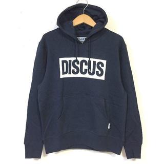 ディスカス(DISCUS)のSALE  送料無料 Mサイズ DISCUS ディスカス ロゴ パーカー 紺(パーカー)
