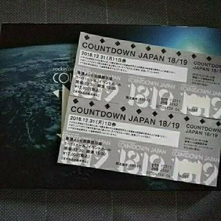 COUNTDOWN JAPAN 31日 2枚(音楽フェス)