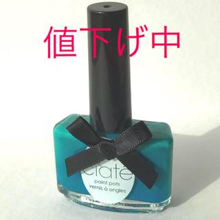 シアテ(ciate)の【美品】Ciate マニキュア ネイルカラー 緑 Ditch the heels(マニキュア)