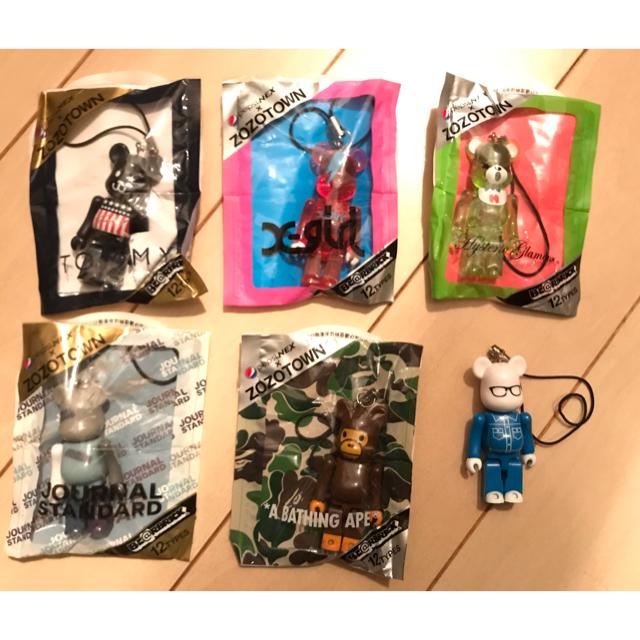 MEDICOM TOY(メディコムトイ)のBE@RBRICK ベアブリック 6種セット APE ヒステリックグラマー など エンタメ/ホビーのおもちゃ/ぬいぐるみ(キャラクターグッズ)の商品写真