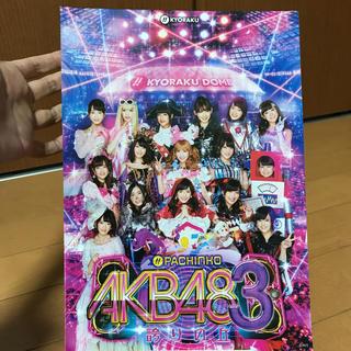 キョウラク(KYORAKU)のAKB48 3 『パチンコAKB48 3誇りの丘パンフレット』※1枚紙(非売品)(パチンコ/パチスロ)