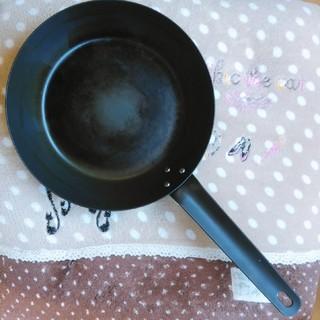 ムジルシリョウヒン(MUJI (無印良品))の無印 鉄フライパン 22センチ(鍋/フライパン)