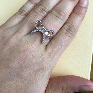 指輪 リング リボン 11号 ゴールド(リング(指輪))