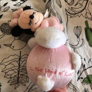 ディズニー(Disney)の希少♡ディズニーリゾート購入 ベビーミニー  おきあがりこぼし(がらがら/ラトル)
