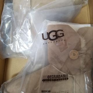 アグ(UGG)のUGGムートンブーツ ボタンショート(ブーツ)