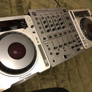 パイオニア(Pioneer)のpioneer CDJ800ミキサー600セット特価!(CDJ)