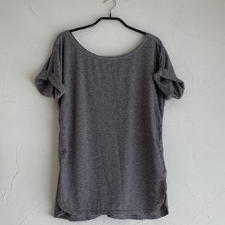 ギャップ(GAP)のたみおくださま専用★Gap Fit 半袖 Tシャツ ロールアップ グレー ヨガ (ヨガ)