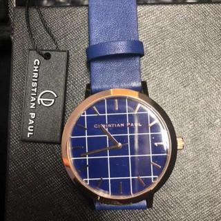 クリスチャンポー(CHRISTIAN PEAU)のクリスチャンポール 新品未使用!腕時計(腕時計(アナログ))