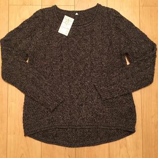 ムジルシリョウヒン(MUJI (無印良品))の無印良品 ケーブル ニット セーター  プルオーバー(ニット/セーター)