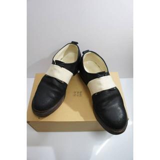 サンシー(SUNSEA)の15AW SUNSEAサンシー レザー ブーツ シューズ 黒522I (ドレス/ビジネス)