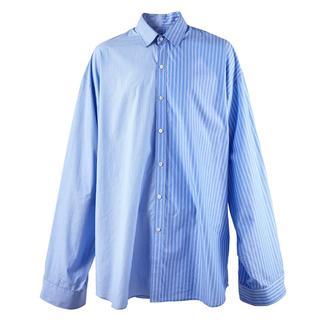 ドレスドアンドレスド(DRESSEDUNDRESSED)のDRESSEDUNDRESSED XXLシャツPINSTRIPE SHIRT(シャツ)