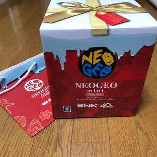 ネオジオ(NEOGEO)の最安値 NEOGEOmini ネオジオミニ クリスマス限定版(家庭用ゲーム本体)