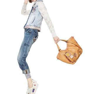 デシグアル(DESIGUAL)の新品 定価13900円 デシグアル 2way bag ブラウン系 (ショルダーバッグ)