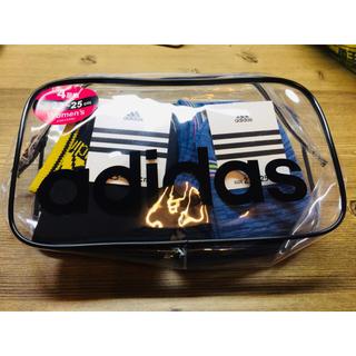 アディダス(adidas)のアディダス ソックス 4足 ポーチ付き(ソックス)