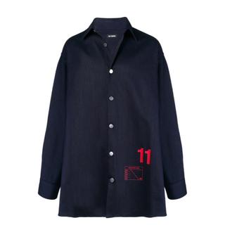 ラフシモンズ(RAF SIMONS)のRafsimons オーバーサイズシャツ(Gジャン/デニムジャケット)