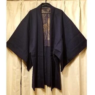 ikill様専用 格好いい刺繍の綺麗なネイビー新品着物(着物)