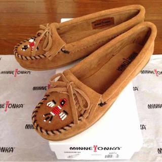 ミネトンカ(Minnetonka)の新品ミネトンカ 8サンダーバードモカシン(スニーカー)