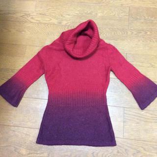 MANGO - マンゴ タートルネックセーター サイズS
