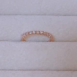 ★きさらぎ様専用★K10 ピンクゴールド★エタニティ ピンキーリング(リング(指輪))