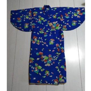 童話の様な可愛い❤️柄の綿入り着物🎍(和服/着物)