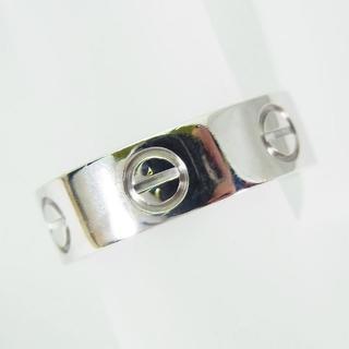 カルティエ(Cartier)のカルティエ 750WG ラブリング 8号(48) [f347-6](リング(指輪))