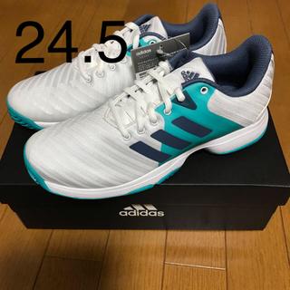 アディダス(adidas)のアディダス テニスシューズ バリケード 24.5(シューズ)