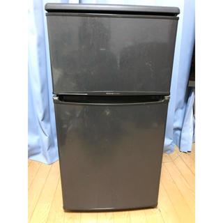 パナソニック(Panasonic)の着払い か直接手渡し 2ドア 冷凍冷蔵庫 78L ナショナル (冷蔵庫)