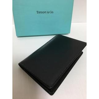 ティファニー(Tiffany & Co.)の未使用 ★ ティファニー カードケース 名刺入れ(名刺入れ/定期入れ)