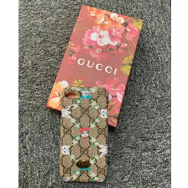 GUCCI iPhone8 カバー 財布型 | Gucci - GUCCI グッチ IPHONE 7/8 case ケースの通販 by gyneLyU's shop|グッチならラクマ
