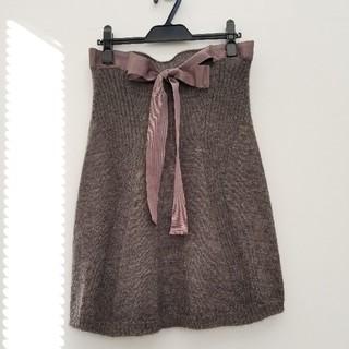 ステファネル(STEFANEL)のニットスカート(ひざ丈スカート)