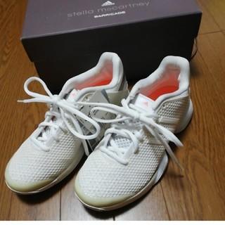 アディダス(adidas)のみかりんさん専用 アディダス ステラバリケード 23cm  オールコート用  (シューズ)
