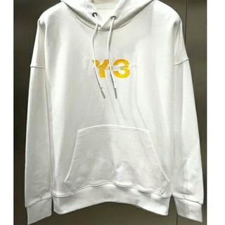 ヨウジヤマモト(Yohji Yamamoto)のY-3 adidas Yohji Yamamoto パーカー(ホワイト,XL)(パーカー)