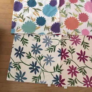シビラ shibilla 花柄キャンバス座布団カバー5枚