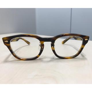 デラックス(DELUXE)のDELUXE デラックス BAKER 増永眼鏡 コラボ メガネ(サングラス/メガネ)