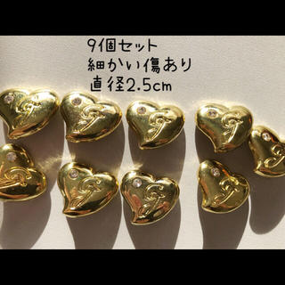グラマラスジェーン(GLAMOROUS JANE)のグラマラスジェーンボタン9個セット☆500円(各種パーツ)